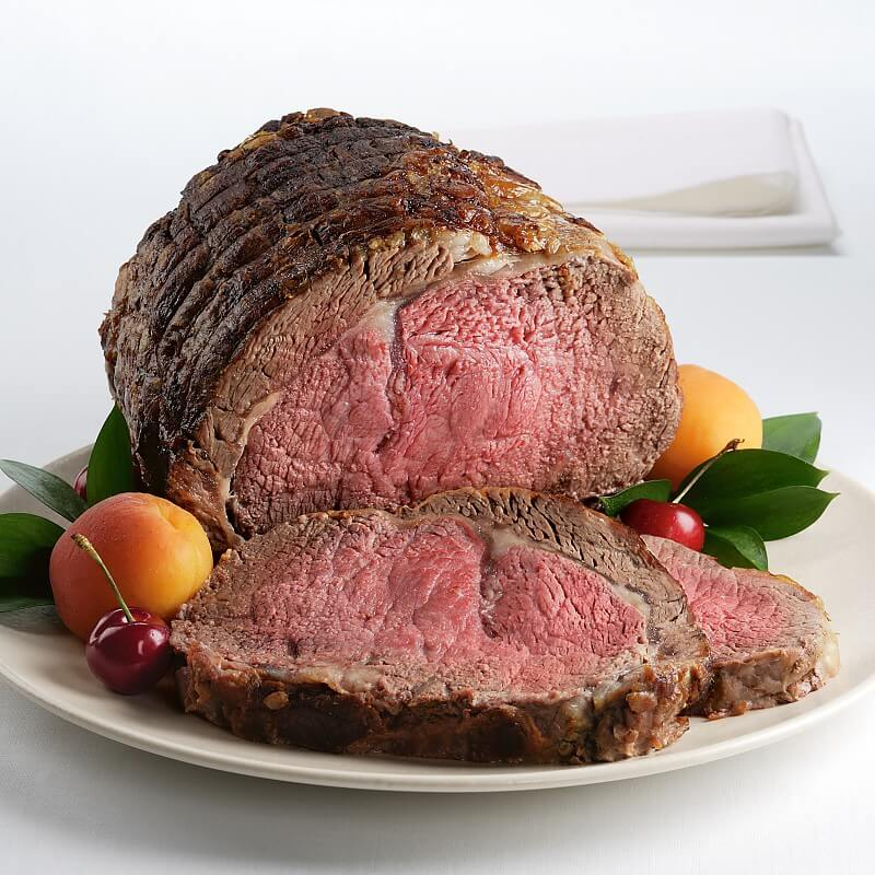 Traditional Rub Prime Rib Roast